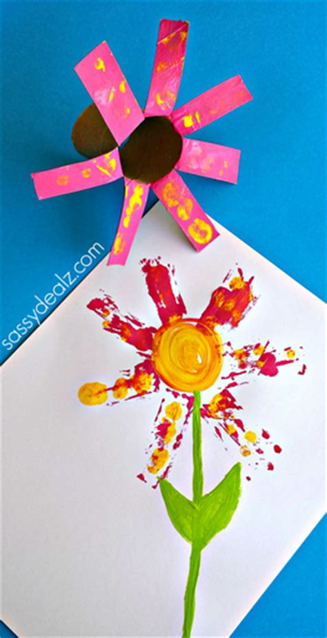 toilet paper roll flowers craft flower craft for using a toilet paper roll crafty