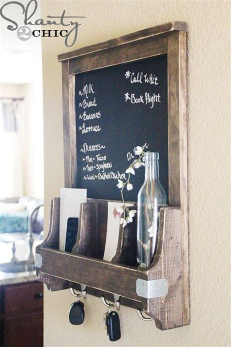 diy chalkboard key holder the ultimate guide for organizing your home room by room