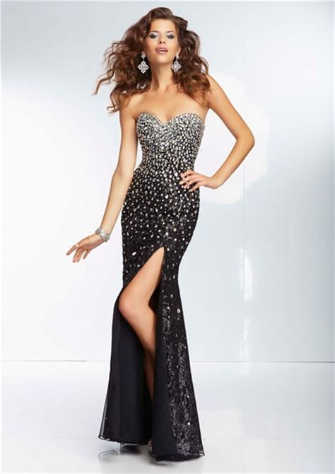 beaded corset prom dress sheath sweetheart black silk tulle beaded prom