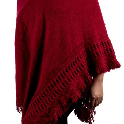 knitted hooded poncho s custom patterned knit hooded poncho sweater