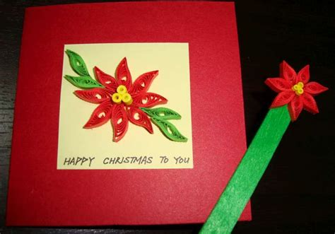 paper poinsettia craft paper n quill crafts poinsettia