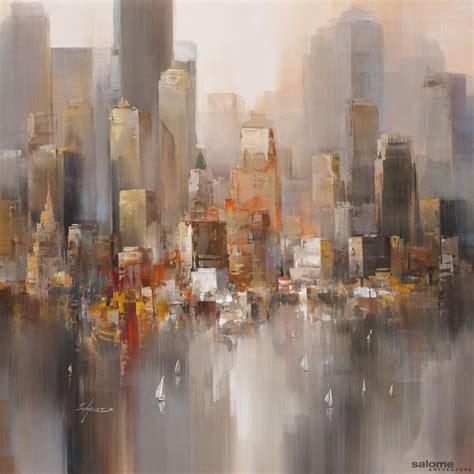 acrylic painting nyc 100 best acrylic paintings images on