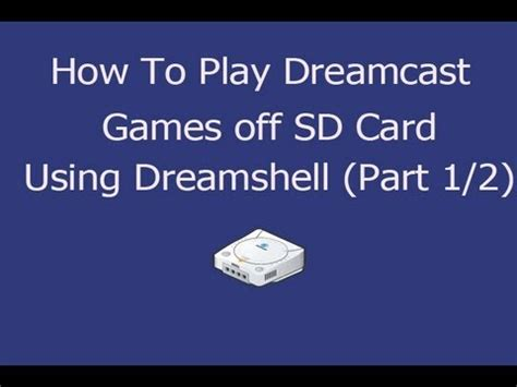 how to make sd card work again how to play dreamcast of sd card adapter using