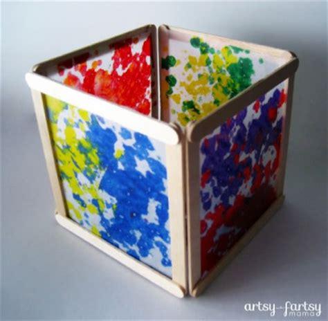 wax craft paper wax paper lantern family crafts