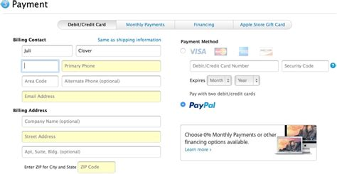 how to make a payment on store card apple store now accepting paypal payments mac rumors
