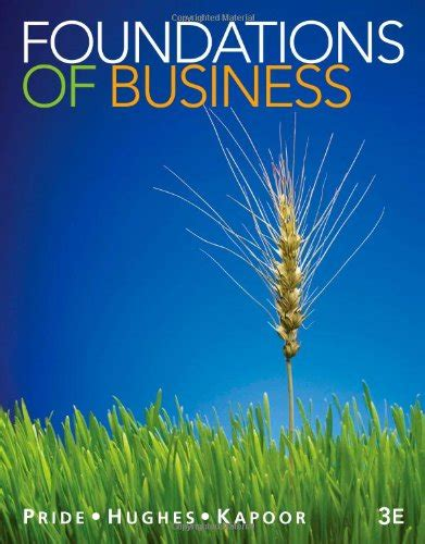 foundations of business standalone book cheapest copy of foundations of business by william m