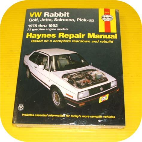 vehicle repair manual 1984 volkswagen scirocco on board diagnostic system service manual service and repair manuals 1984 volkswagen scirocco user handbook pdf free