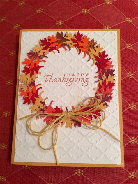 ideas for thanksgiving cards to make best 25 handmade thanksgiving cards ideas on