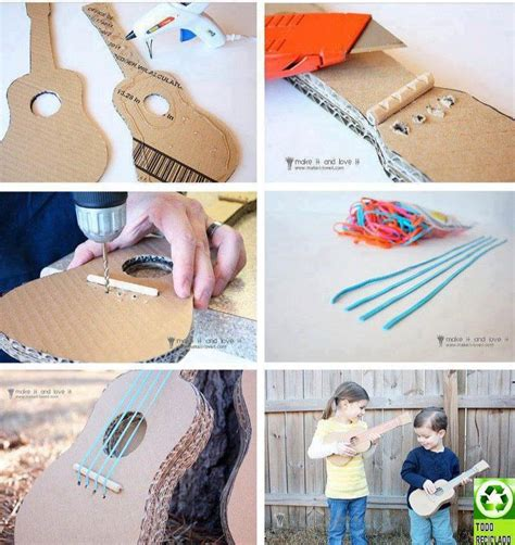 guitar crafts for diy crafted for and air guitar players can be