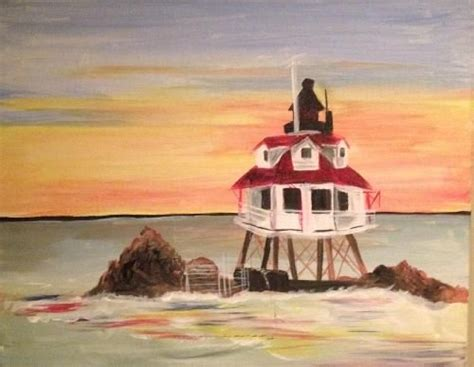 paint nite baltimore capes and lighthouses on