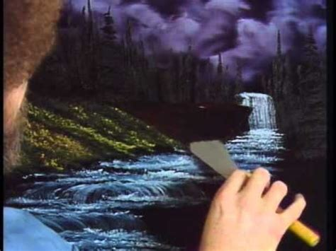 bob ross painting season 1 seasons snow falls and waterfalls on