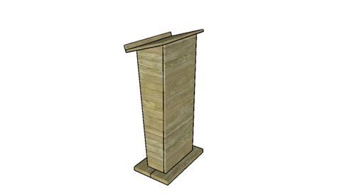 podium woodworking plans podium woodworking plans myoutdoorplans free