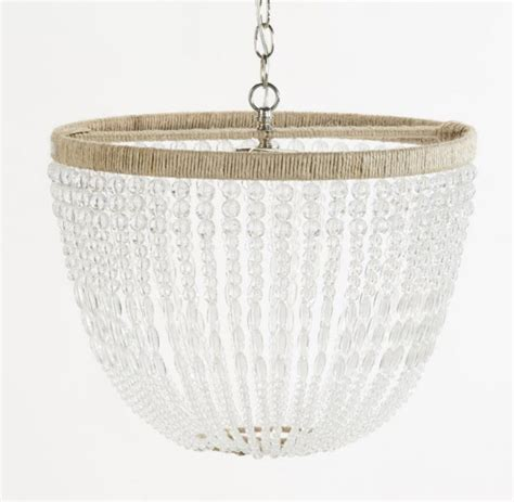 clear beaded chandelier ro sham beaux malibu clear beaded hanging chandelier ro