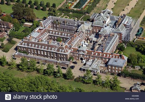 Kensington Palac aerial view of kensington palace in london home of prince