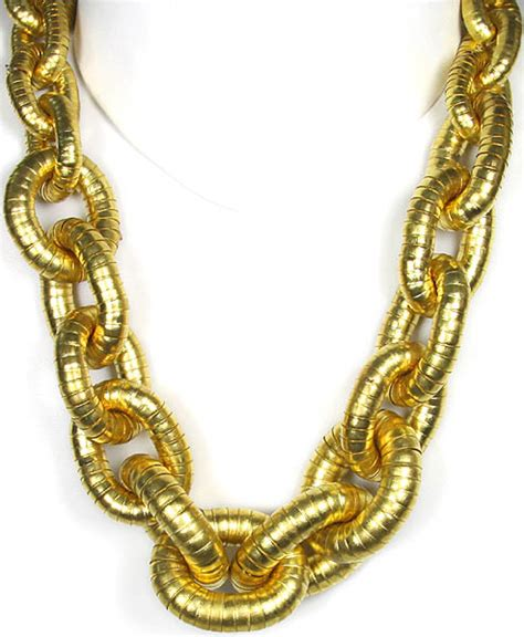 jewelry necklace chains golden linked chain necklace