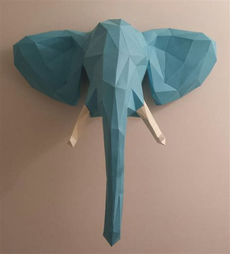 elephant paper craft welcome to the jungle elephant papercraft