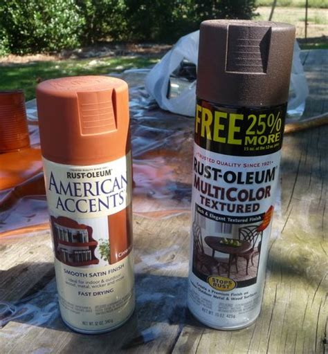 spray painting rust ahl cooped up primitive can tutorial
