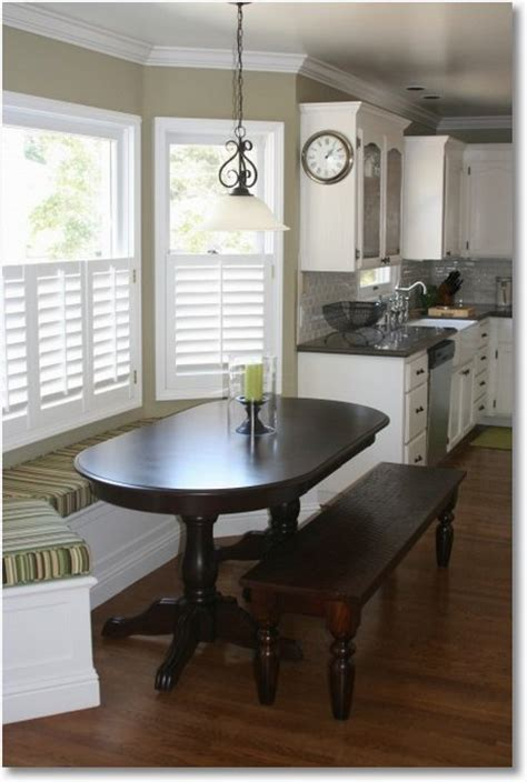 bay window kitchen table a space saving kitchen window seat