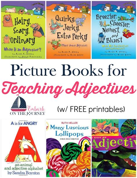 using picture books to teach teaching adjectives with picture books