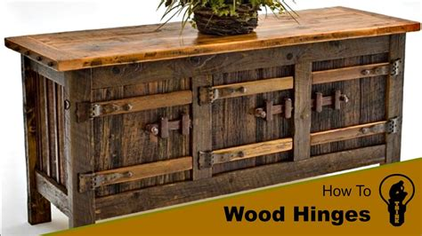 how to make wooden how to make a wood hinges