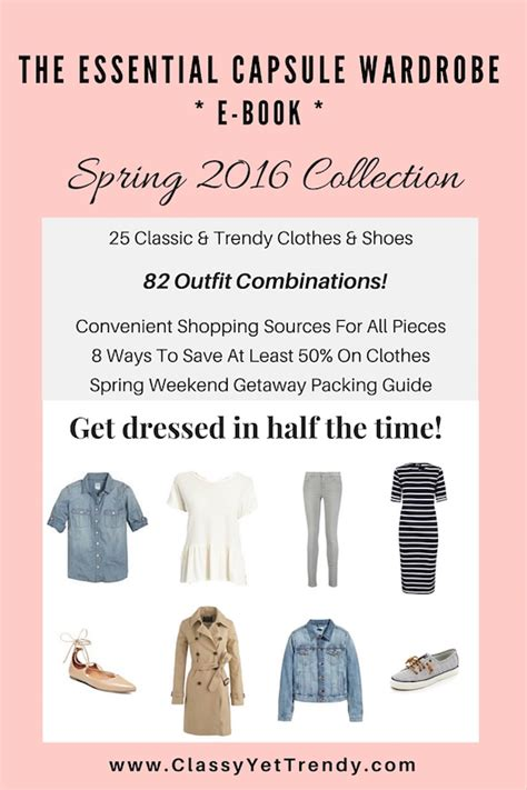 wardrobe picture book the essential capsule wardrobe e book 2016
