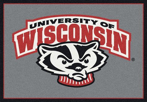 area rugs wi wisconsin badgers area rug ncaa badgers area rugs