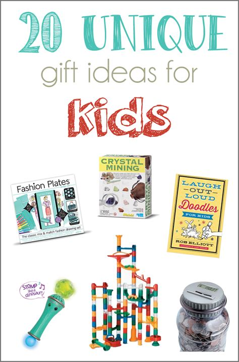 ideas for children 20 unique gift ideas for and a giveaway cutesy crafts