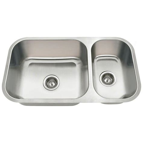 steel kitchen sinks polaris sinks undermount stainless steel 32 in