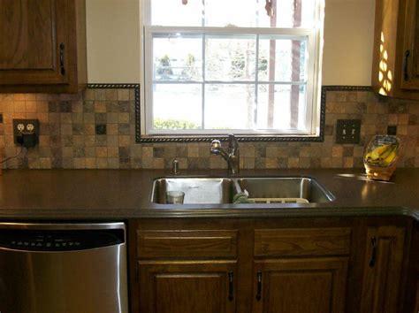 kitchen window backsplash backsplash like the trim around the window this would