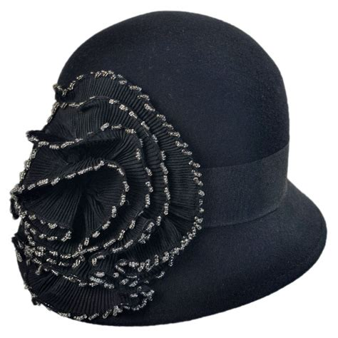 beaded hats san diego hat company beaded flower cloche hat cloche