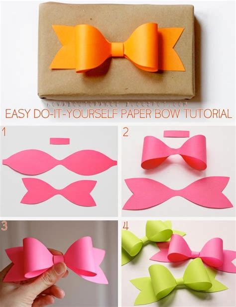 paper crafts diy diy paper bow pictures photos and images for