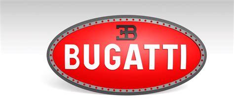 Bugati Logo by Bugatti Logo 3d Cad Model Library Grabcad