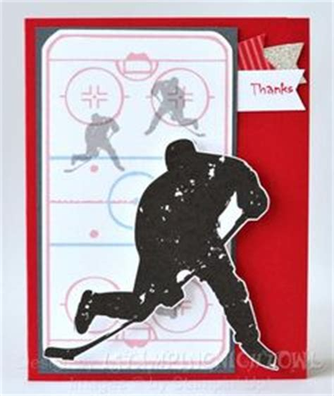 make a hockey card hockey birthday card hockey birthdays and hockey