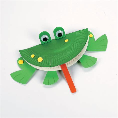 paper plate frog craft paper plate frog craft kit trading discontinued