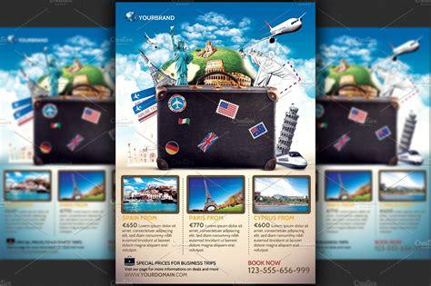travel agency promotional flyer temp flyer templates