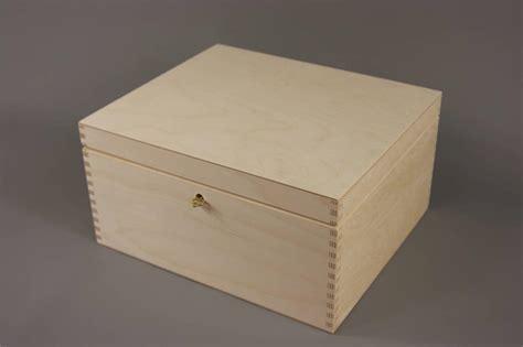 decoupage wooden boxes new lockable plain wood wooden box decoupage 29 x 25 x 15