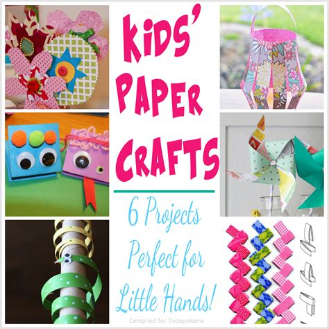 paper craft ideas for children todaysmama paper crafts projects for
