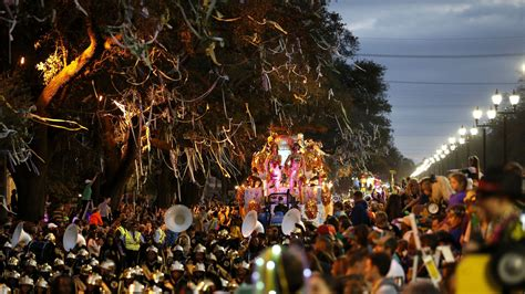 Times Roll At Mardi Gras Bacchus Parade