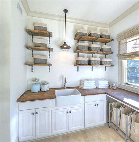 laundry room storage shelves eye catching laundry room shelving ideas