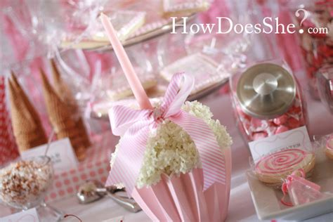 how to make cake centerpieces cupcakes and candles