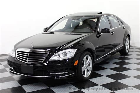2012 Mercedes S550 4matic 2012 used mercedes s class certified s550 4matic awd