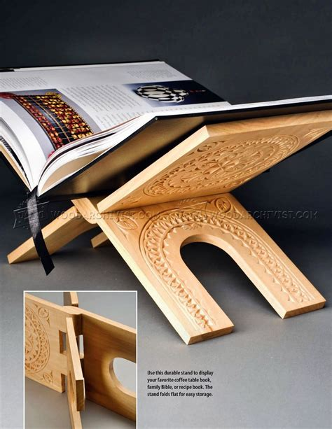 woodworking plans book make book stand woodarchivist