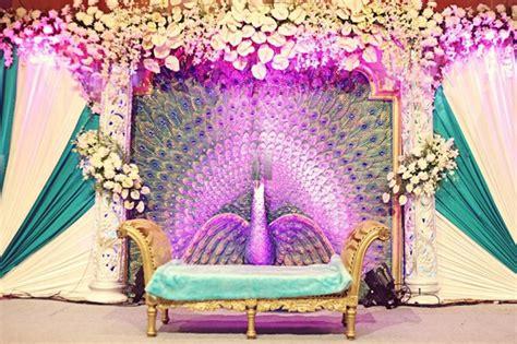peacock decoration peacock inspired indian wedding decor fullonwedding