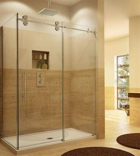 Frameless Tub Shower Doors by Sliding Glass Shower Door Installation Repair Va Md Dc