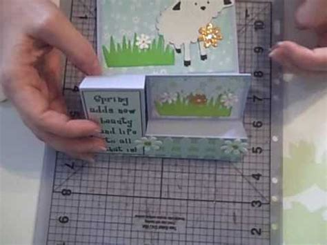 how to make a tri fold card march tri fold card wmv
