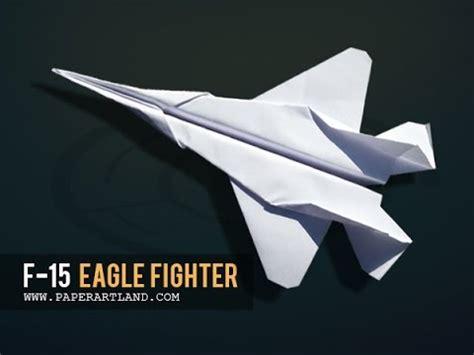 origami f 15 f 15 eagle papierflieger new bauanleitung doovi