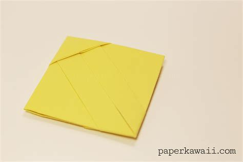 origami letter s origami square letter fold tutorial paper kawaii