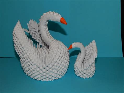 origami swan tutorial 1000 images about my 3d origami collection on