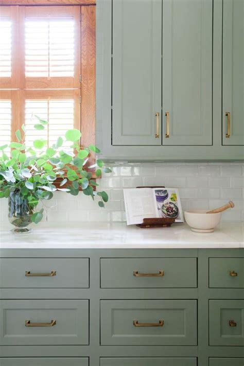 green painted kitchen cabinets best 25 green kitchen ideas on