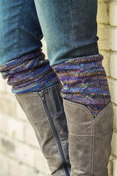 cable knit boot cuffs pattern knitting pattern pdf file for cabled boot cuffs boot